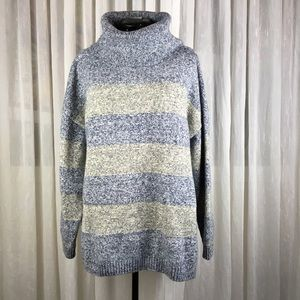 Tommy Hilfiger Cowl Neck Cozy Stripe Sweater